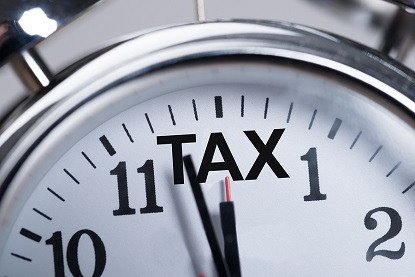 Tax Time - Preparation of Personal Taxes