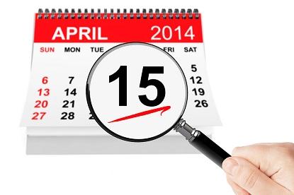 April 15th Tax Deadlin