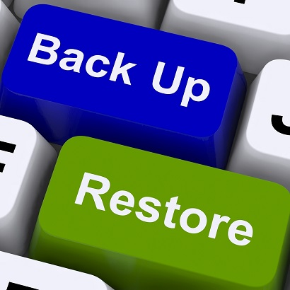 Backup accounting files for security