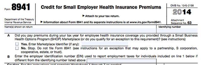 Tax Form 8941