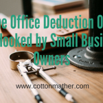 Home Office Deduction Often Overlooked by Small Business Owners